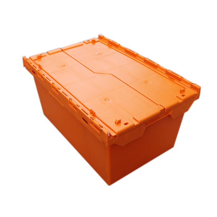 Coloured Plastic Storage Boxes High, Orange Storage Totes With Lids