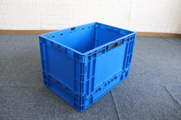 fold flat crate