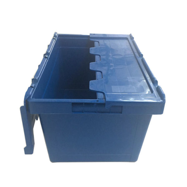 plastic hinged containers