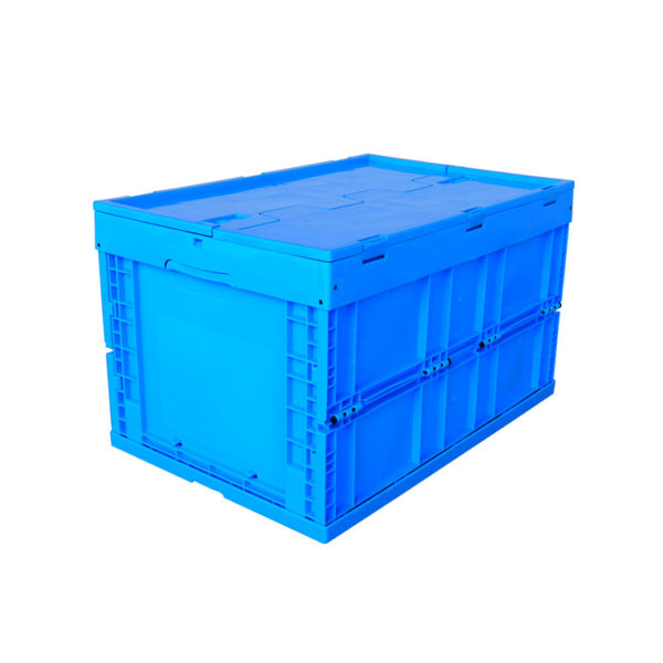 white collapsible storage box